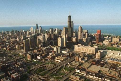 Chicago Skyline. AP Photo/Beth A. Keiser