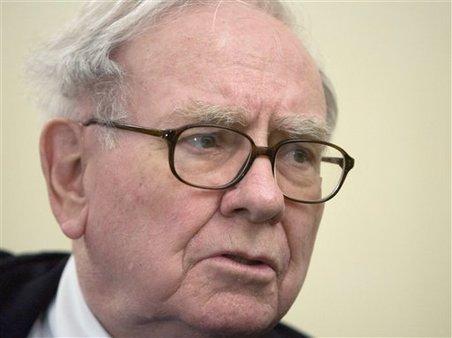 Warren Buffet in 2008 photo. AP Photo/Paul White, file