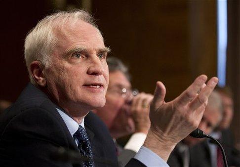 Reserve System member Daniel Tarullo testifying on Capitol Hill, in June 2012. (AP photo/Manuel Balce Ceneta)