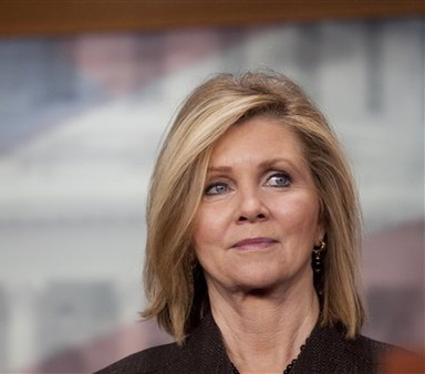 Rep. Marsha Blackburn wants to curtail perceived ill effects of the ACA on agents, health insurance market. (AP photo/Harry Hamburg)