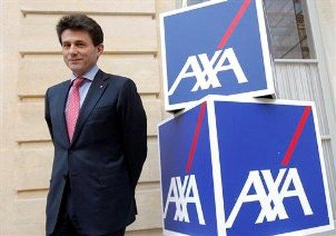 AXA insurance company CEO Henri de Castries (AP Images/Christophe Ena)
