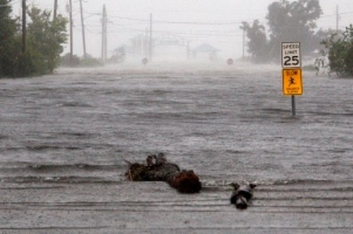 The aftermath of Hurricane Isaac (AP photo/Rogelio V. Solis)