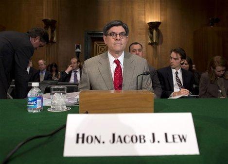 Treasury Secretary Jacob Lew (AP photo/Evan Vucci)