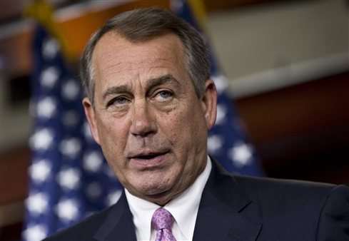 "House Speaker John Boehner of Ohio says he believes the PPACA is a ""a train wreck."" (AP Photo/J. Scott Applewhite)"