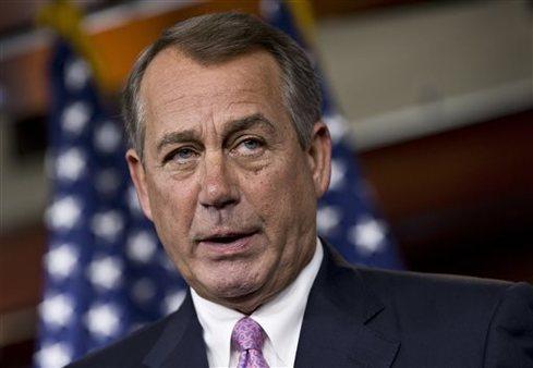 "House Speaker John Boehner of Ohio says he believes the PPACA is a ""a train wreck."" (AP Photo/J. Scott Applewhite)"
