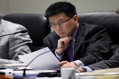 Controller John Chiang is suing the Kemper Corporation. (AP file photo)