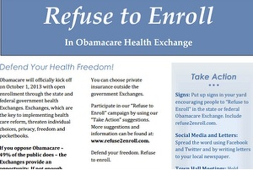"CCHF is urging consumers to ""Defend Your Health Freedom!"" (CCHF image)"