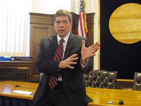 Sen. Mark Begich, D-Alaska (AP Photo/Becky Bohrer)