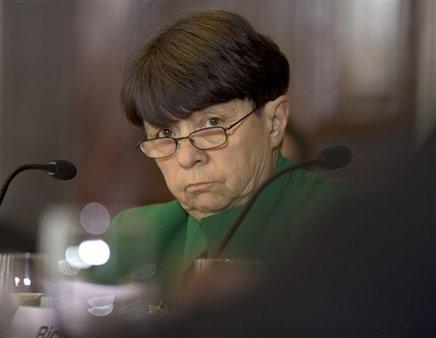 SEC Chairwoman Mary Jo White (AP Photo/Carolyn Kaster)
