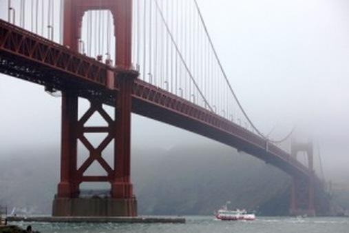 The Golden Gate Bridge (AP photo/Eric Risberg)