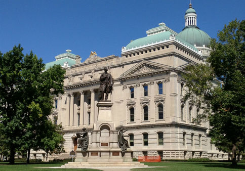 The Indiana State House already has its place in the sun two blocks from where industry is bending NAIC's ear on captives, PBR.