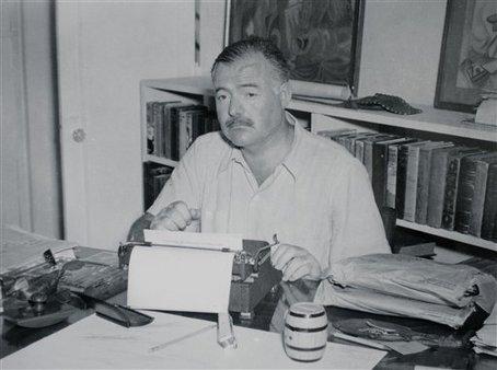 Ernest Hemingway, esteemed member of the Lost Generation. (AP Images)