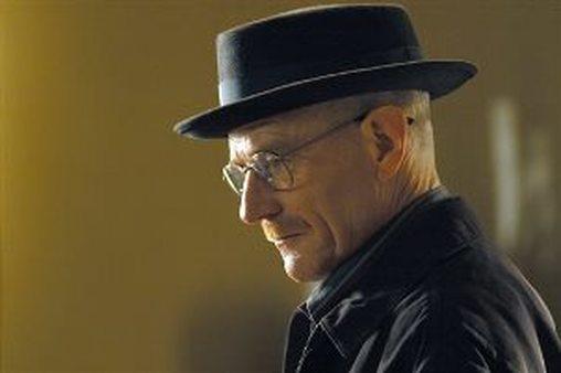 Walter White: chemist, drug lord, failure. (AP Photo/AMC, Ursula Coyote)