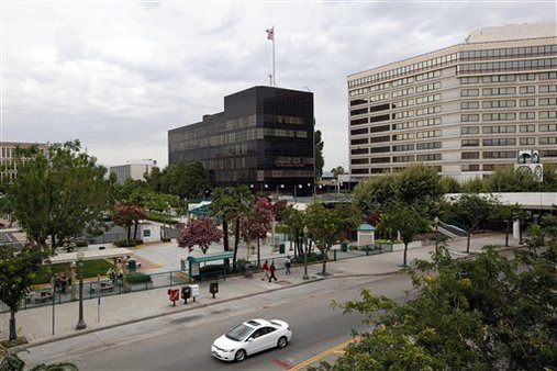 City Hall, San Bernardino, Calif.  (AP Photo/Reed Saxon,File)