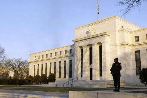 The( SIFI insurance buck) stops here: The Federal Reserve building in Washington (AP File Photo/Alex Brandon, File)