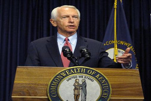 Kentucky's Democratic Gov. Steve Beshear (AP Photo/Roger Alford)
