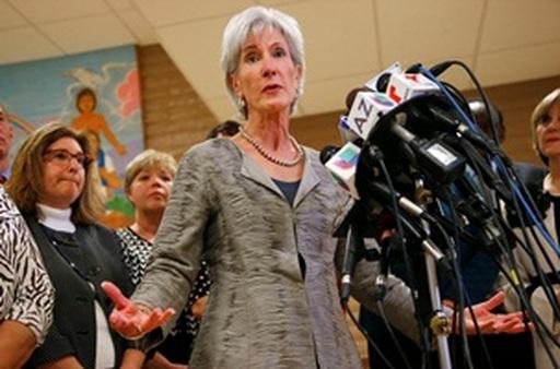 Kathleen Sebelius (AP photo/Ross D. Franklin)
