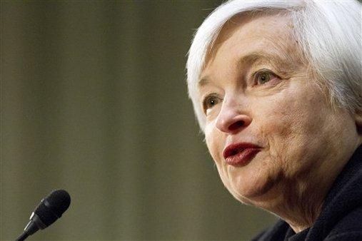 Federal Reserve Board chairman-designate Janet Yellen (AP Photo/Jacquelyn Martin)