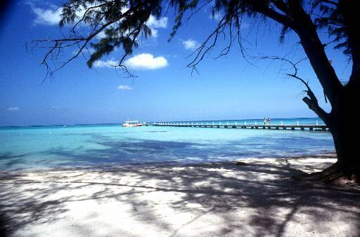The Cayman Islands loses a reinusrance firm. (AP Photo/Cayman Islands Dept. of Tourism)