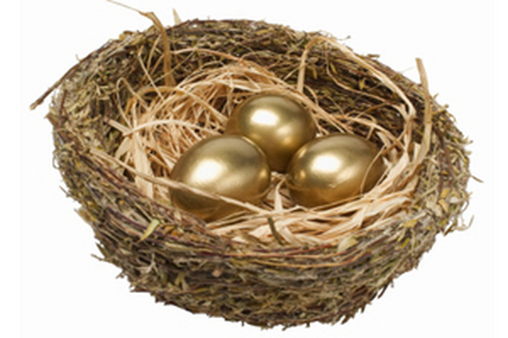 About 45 percent of workers have retirement savings outside of retirement plans established by their employers.