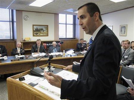 Adam Hamm, NAIC president and North Dakota Insurance Commissioner (AP Photo/Dale Wetzel)