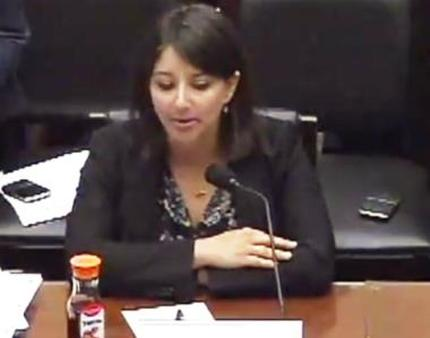 Mandy Cohen, acting CCIIO director (House Oversight video screen capture)