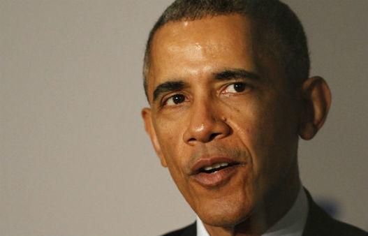 President Barack Obama speaks at AARP in Washington, Monday, Feb. 23, 2015. (AP Photo/Jacquelyn Martin)