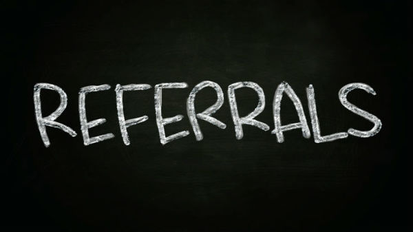 Sixty-one percent of clients who provided referrals did so because they wanted to help a friend of colleague.