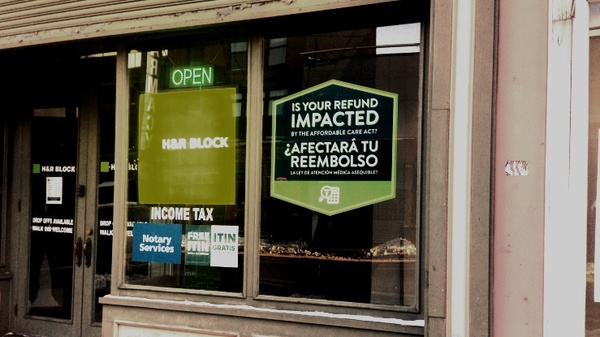 At H&R Block, the average reconciliation repayment amount was $729.