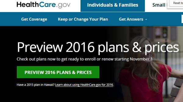 The deadline for HealthCare.gov exchange plan coverage that starts Jan. 1 is Dec. 15.