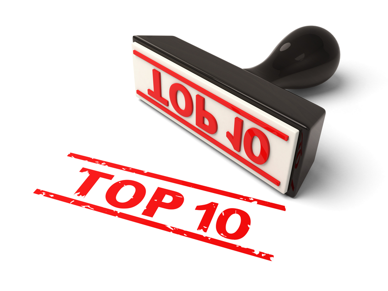 Image result for top 10's