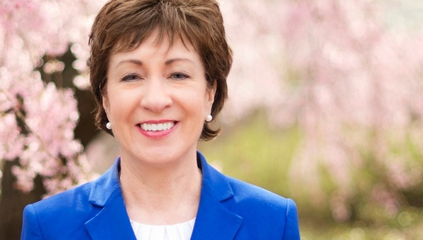 Susan Collins of Maine voted with the Democrats on the Medicare amendment, Senate Amendment 20 to Senate Concurrent Resolution 3. (Photo: Collins' office)