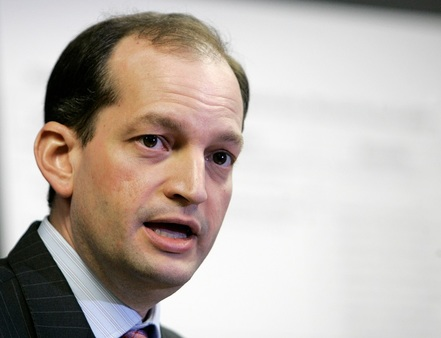 In this 2008 file photo, R. Alexander Acosta talks to reporters during a news conference in Miami. President Donald Trump says he's has chosen Acosta to be labor secretary. (AP Photo/Alan Diaz, File)