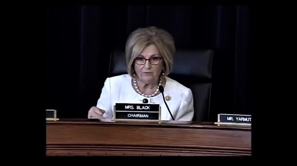 Rep. Diane Black, R-Tenn., presided over the AHCA markup in a gracious manner. (Photo: House Budget)