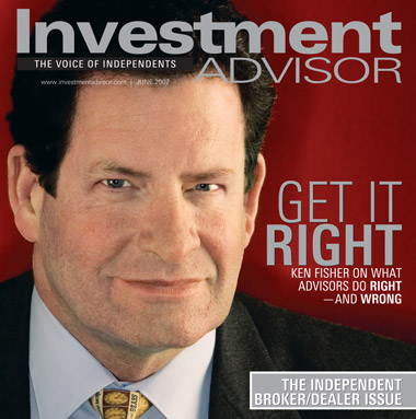 Ken Fisher, founder of Fisher Investments Inc.
