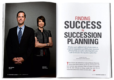 Finding Success in Succession Planning, IA, July 2011