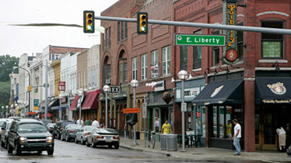 Downtown Ann Arbor, Michigan. (Photo: AP)