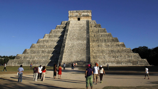 Kukulkan Pyramid in Chichen Itza, Mexico. (Photo: AP)