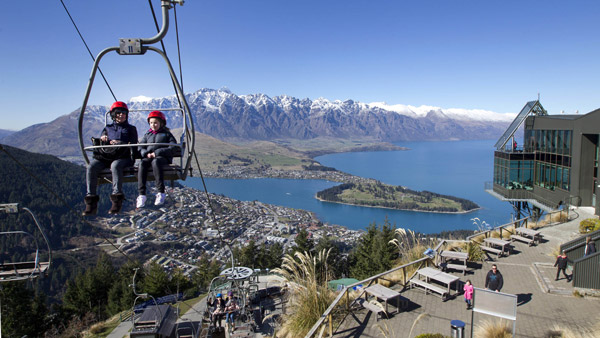 Queenstown, Lake Wakatipu in the South Island of New Zealand. (Photo: AP)