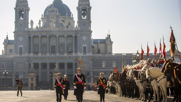 The Royal Palace in Madrid, Spain. (Photo: AP)