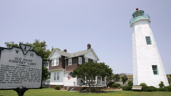 The Old Point Comfort Lighthouse at Ft. Monroe in Hampton, Va. (Photo: AP)