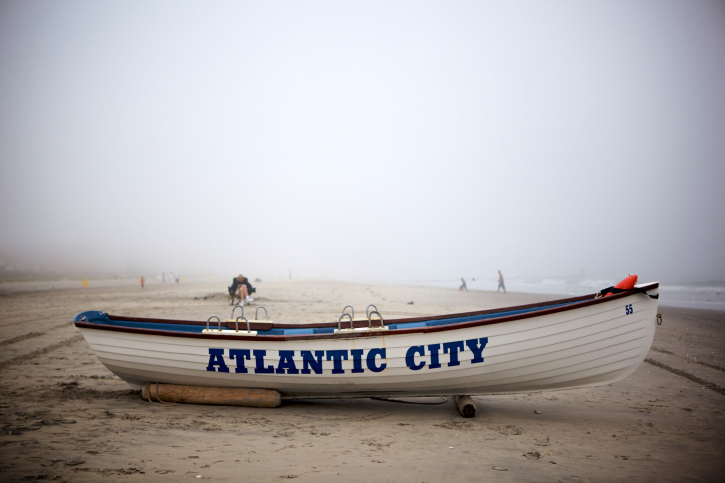 Atlantic City Beach.