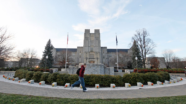 Virginia Tech campus. (Photo: AP)
