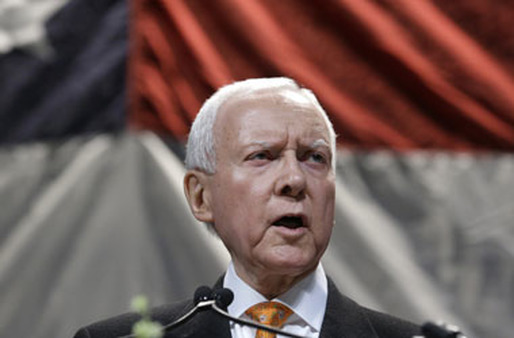 Sen. Orrin Hatch. (Photo: AP)