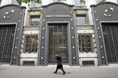 BNP Paribas headquarters in Paris. (Photo: AP)