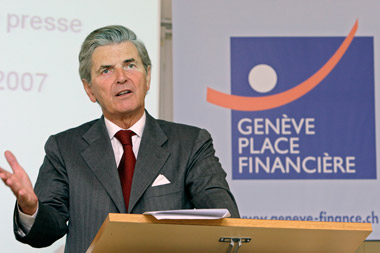Ivan Pictet, former Managing Director at Pictet. (Photo: AP)