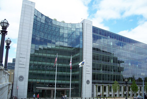 The SEC's headquarters in Washington.