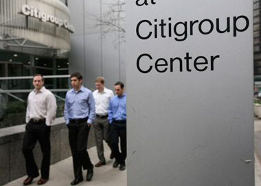 Citigroup headquarters in New York. (photo: AP)