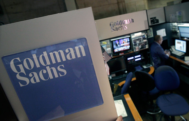 Goldman Sachs trader. (Photo: AP)