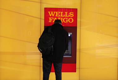 Wells Fargo ATM. (Photo: AP)